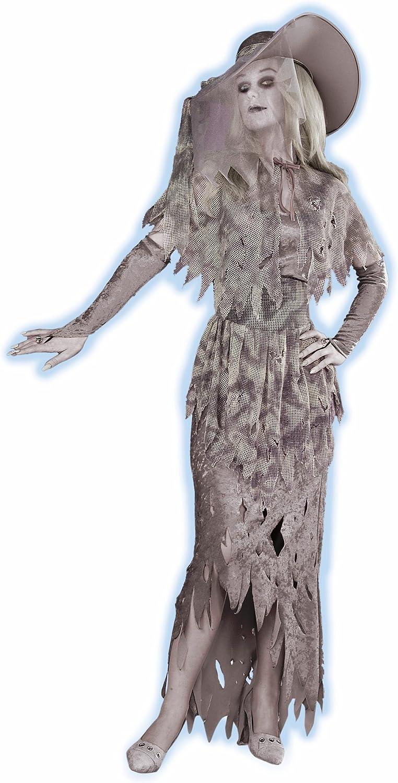 Forum Novelties Inc 17128 Ghostly Gal Adult Costume Size Standard OneSize Women 610