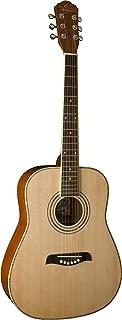 Oscar Schmidt OG1LH-A-U Natural Lefty 3/4 Size Dreadnought Guitar. Left Hand