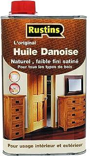 Rustin's - Deense olie - de originele heldere Deense olie voor alle houtsoorten 1L (DANO1000FR)