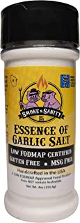 Smoke n Sanity Essence of Garlic Salt - Certified Low FODMAP - Contains No Onion - Certified Gluten Free - Certified Koshe...
