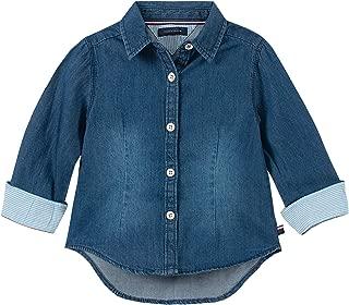 Girls' Classic Denim Shirt