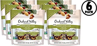 (6 Pack) Orchard Valley Harvest Cranberry Almond Cashew Trail Mix 8-1 oz Bags
