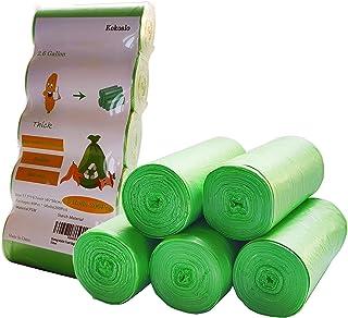 Compostable Trash Bags 2.6 Gallon,200Counts,10Liter,Compost Bags,Small Trash Bags,Biodegradable trash bags for Kitchen Bat...