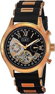 [SONNE]ゾンネ 腕時計 HAORI ブラック文字盤 自動巻 H016PG-BK メンズ