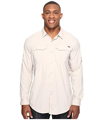 Columbia Big and Tall Silver Ridge Lite Long Sleeve Shirt (Fossil) Men