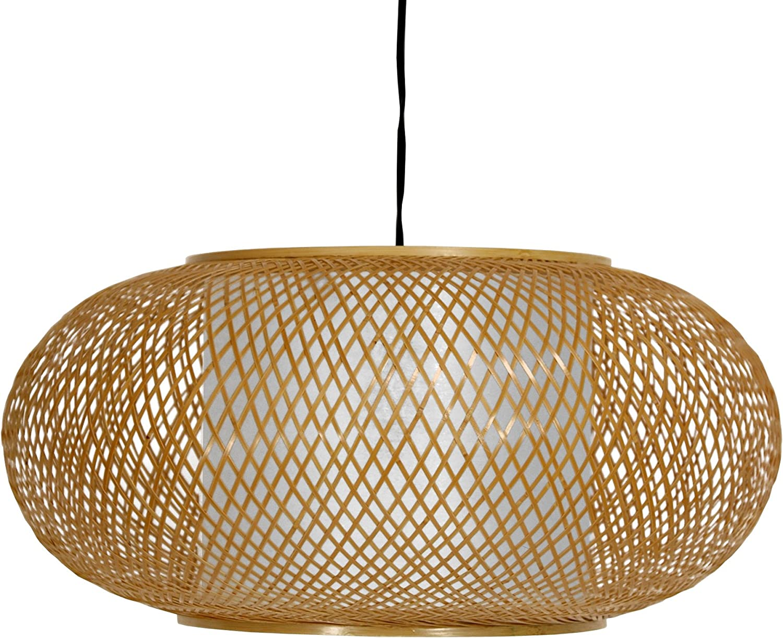 Oriental Furniture Honey Kata Japanese Ceiling Lantern