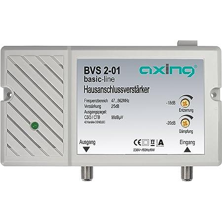 Axing Bvs 2 01 Hausanschlussverstärker 25 Db Für Elektronik