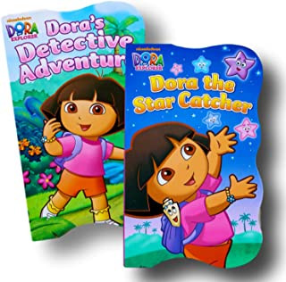 Disney Baby Toddler Board Books - Set of 2 (Dora the Explorer Board Books)