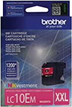 Brother Printer LC10EM Super High Yield Magenta Ink Cartridge