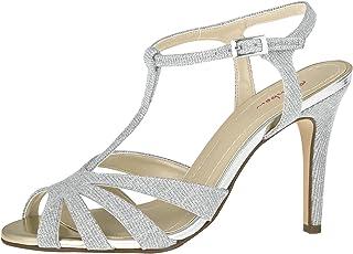 Rainbow Club Chaussures de mariée Annabel - Argenté/doré métallisé - Escarpins pour femme