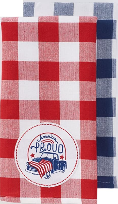 Celebrate Americana Together American Proud Kitchen Towel Set 26 X 16 5