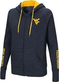 Colosseum Women's NCAA-Contract-Cotton/Poly-Fleece Full Zip Up Hoodie Sweatshirt