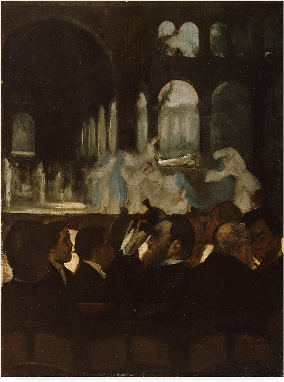 Trademark Fine Art The Ballet from Robert Le Diable by Edgar Degas, 14x19, Multicolor