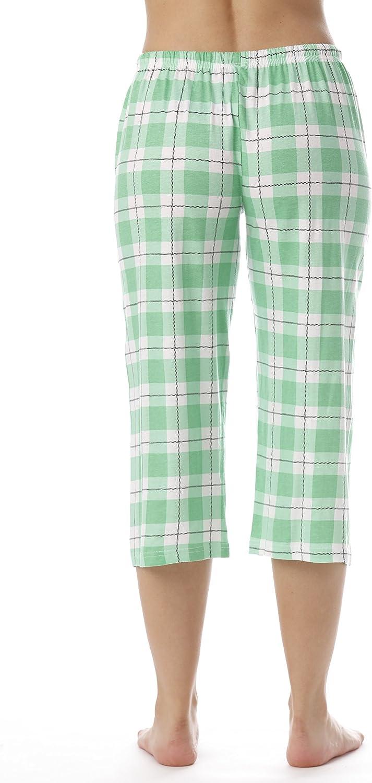 Just Love 100/% Cotton Women Pajama Capri Pants Sleepwear