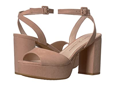 Chinese Laundry Theresa (Dark Nude Microsuede) High Heels
