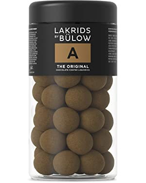 Lakrids by Johan Bülow A - The Original Chocolate Coated Liquorice (295g)