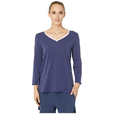 Jockey Long Sleeve Top (Deep Navy) Women