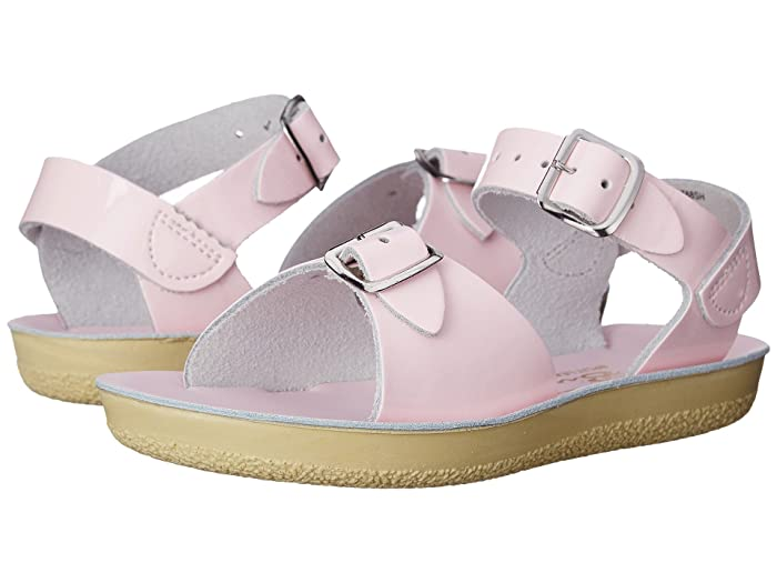 Salt Water Sandal by Hoy Shoes  Sun-San - Surfer (Toddler/Little Kid) (Shiney Pink) Girls Shoes