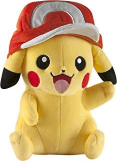 Pokémon Large Pikachu with Ash's Hat Plush