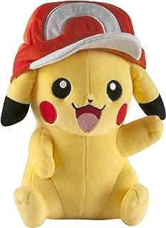 TOMY Pokémon Large Pikachu with Ash's Hat Plush