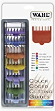 "Wahl Professional 8 Color Coded Cutting Guides with Organizer #3170-400 – Great for Professional Stylists and Barbers – Cutting Lengths from 1/8"" to 1"""