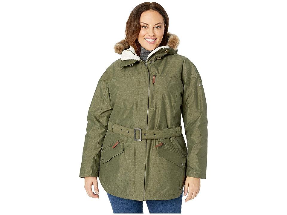 Columbia Plus Size Carson Pass II Jacket (Nori) Women