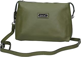 ALV by ALVIERO MARTINI Hobos & Shoulder Bags womens leather Green Small