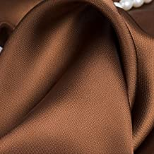 2m Det Mjuka Sidentyget äR 150 Cm Brett Per Meter Diy-Syplagg Hantverk BröLlopsdekoration Pyjamas Skjortmaterial Draperand...