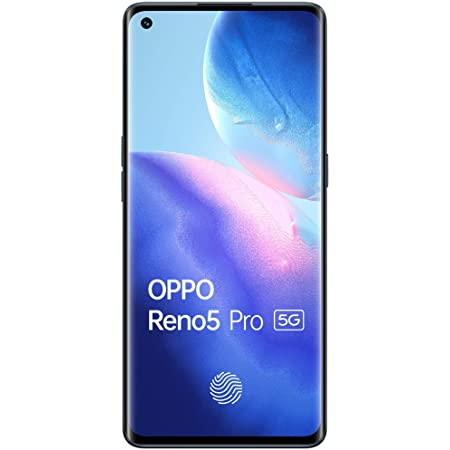 OPPO Reno5 Pro 5G (Starry Black, 8GB RAM, 128GB Storage) with No Cost EMI/Additional Exchange Offers