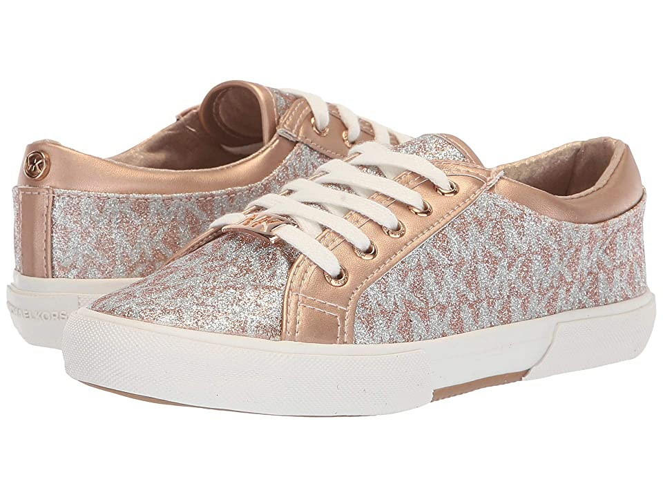 1fa10f6e203d MICHAEL Michael Kors Kids Ima Tinsel (Little Kid Big Kid) (Rose Gold) Girl s  Shoes