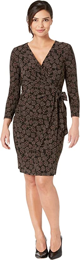 Trieste Faux Wrap Dress