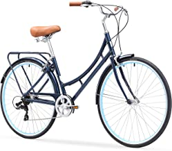 sixthreezero Ride in The Park Women's Touring City Road Bicycle with Rear Rack