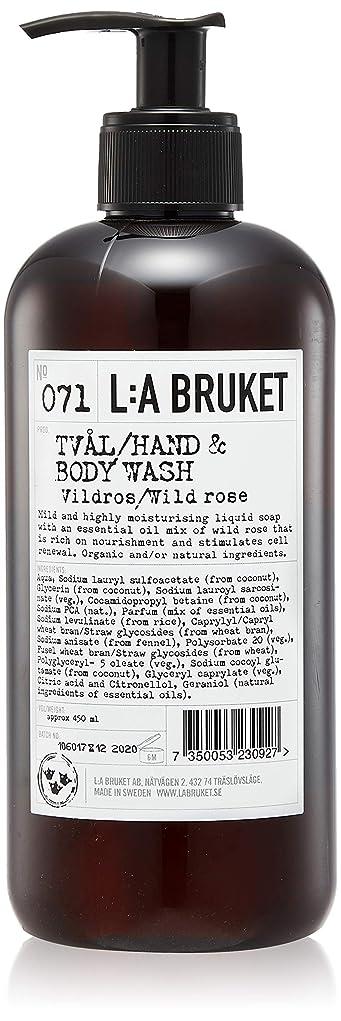 崖スリップシューズ優れたL:a Bruket (ラ ブルケット) ハンド&ボディウォッシュ (ワイルドローズ) 450g