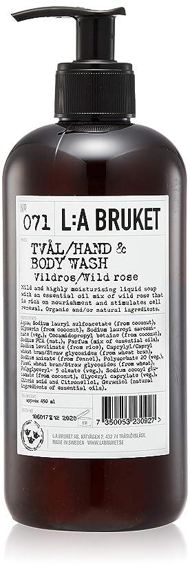 真実に変換スキニーL:a Bruket (ラ ブルケット) ハンド&ボディウォッシュ (ワイルドローズ) 450g