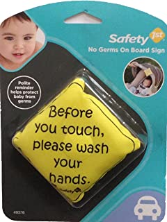 Safety 1st No Germs on Board Sign - 2 Count