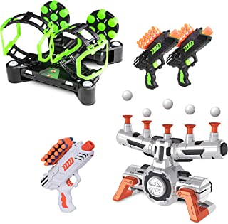 USA Toyz Astroshot Shooting Games Bundle - Astroshot Zero G Floating Hovering Ball Targets for Shooting and Astroshot Gyro...
