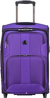DELSEY Paris Sky Max Expandable 2 Wheeled Carry on, Purple (Purple) - 403282720-500