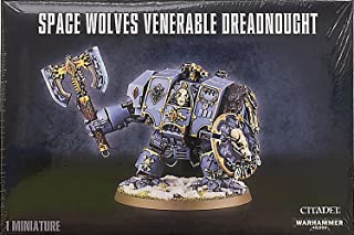 Space Wolf Venerable Dreadnought Warhammer 40K by Games Workshop
