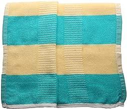 Sigma 6 100% Bath & Swim Towel, Ultra Soft, Super Absorbent, Antibacterial, 600 GSM, Blue (60X30)
