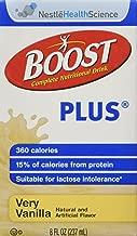 Nestle Boost Plus Very Vanilla 8oz Brikpaks 27/Case