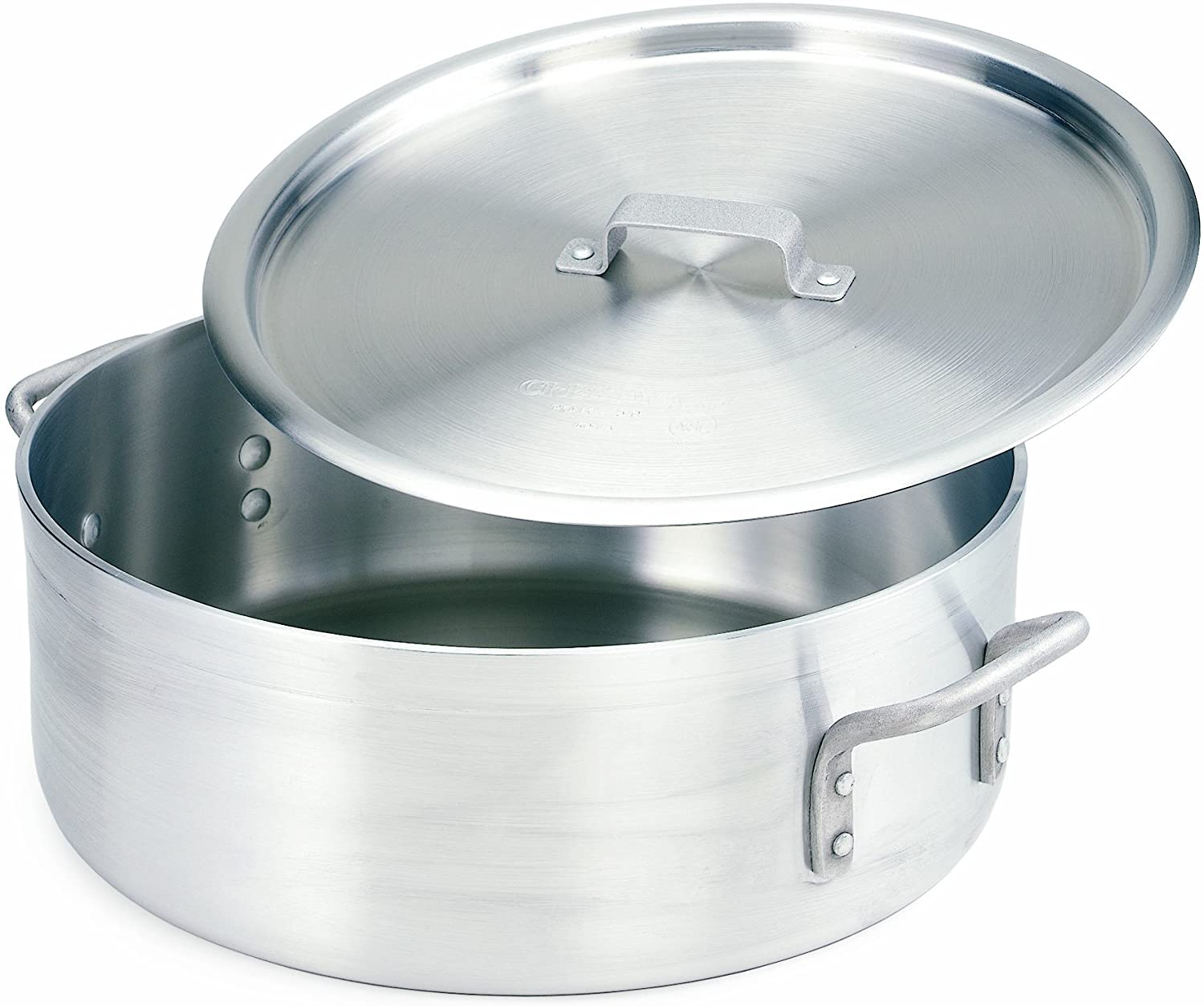 Crestware Extra Mail order Heavy Weight Aluminum OFFicial shop with Pan Covers Braziers