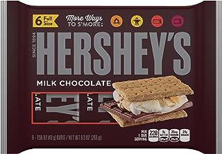 Hershey's, Milk Chocolate Bars, 9.3 Oz, 6 Ct