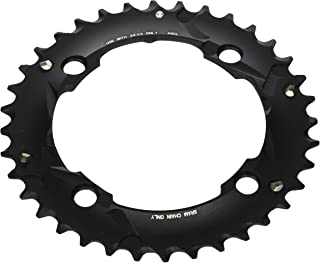 Sram, 36T, 10 sp, BCD 104mm, 4-Bolt, Outer Chainring, For L-pin GXP, Aluminum, Black