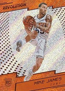 2017-18 Panini Revolution Basketball #140 Mike James RC Phoenix Suns