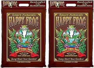 Fox Farm FX14054 Happy Frog Potting Soil, 12 Quart (2)