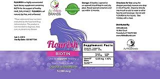 Sponsored Ad - AltMedBrands Flourish Flavorless Liquid Biotin Diet Supplement for Healthy Hair, Skin and Nails