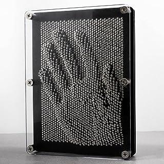 Goods & Gadgets Image 3D Pinart Pinart Image Pinpressions Sculpture Retro Jouets avec Clous en métal 20 x 15 cm