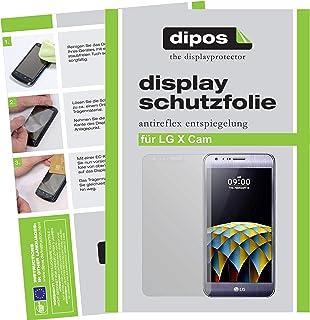 dipos I 6 x skyddsfolie matt kompatibel med LG X Cam folie skärmskydd