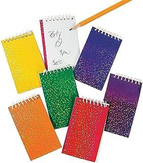 Fun Express Paper Prisms Spiral Notepads-12 pieces