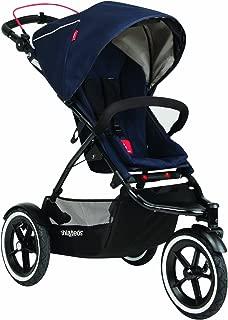 phil&teds Navigator Stroller, Midnight Blue (Discontinued by Manufacturer)